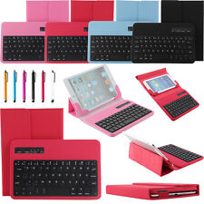 """Universal Removable Bluetooth Keyboard Case Cover For 9.7"""" 10"""" 10.1"""" Tablet iPad"""