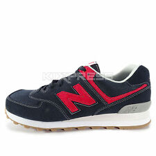 New Balance ML574 [ML574WDH] Classic Running Navy/Red