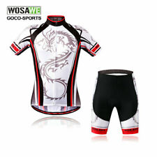 Mens Team Men Cycling Bike Short Sleeve Sports Bicycle Jersey + Shorts Set NEW!