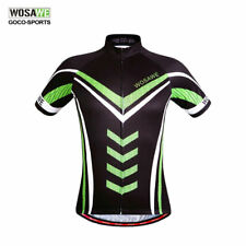 Men 's Sport Cycling Jersey Top Shirt Bicycle Wear Clothing Short Sleeves S-XXL