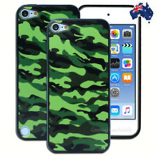 Army Camouflage Hard Back Case for Apple iPod Touch 5 5th 6 6th Gen Cover