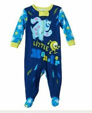 Disney Baby Pixar Monsters Long Sleeve Footed One Piece Baby Boy 0-3 3-6 Months