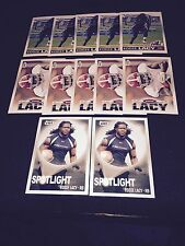 LOT OF 12 2013 HIT EDDIE LACY ROOKIE FOOTBALL CARDS MINT PACKERS NICE!!!