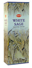 Hem White Sage Incense Sticks Pagan Wicca Witch Choose Quantity Free Shipping
