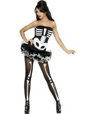 Skeleton Costume - Fever - Adult Fancy Dress Costume - Available in XS/S/M/L