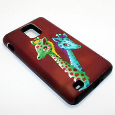 Giraffes Hybrid ShockProof Phone Cover Case For Samsung Infuse 4G I997