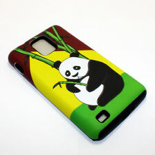 Bamboo Panda Hybrid ShockProof Phone Cover Case For Samsung Infuse 4G I997