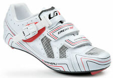 Louis Garneau Carbon HRS-2 Road Cycling Shoe - White with Red and Black
