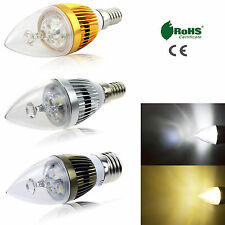 E12 E14 E27 6W 8W 10W Dimmable Sharp High Power LED Chandelier Candle Light Bulb