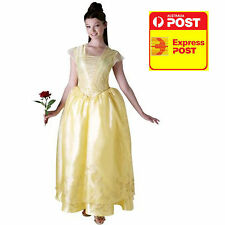 BEAUTY AND THE BEAST MOVIE COSTUME -BELLE LIVE ACTION DELUXE ADULT