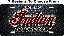 Indian Motorcycle License Plate Auto Car Tag Metal Aluminum LPCY02