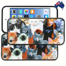 NEW Cat Kitten Print Hard Back Case for Apple iPod Touch 5 5th 6 6th Gen Cover
