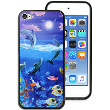 NEW Undersea Dolphin Hard Back Case for Apple iPod Touch 6 6th Gen itouch Cover