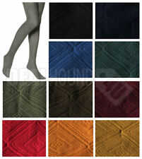 NIP!  WOMEN'S HUE 3D DOUBLE DIAMOND CONTROL TOP TIGHTS - VARIETY - COLORS/SIZES!