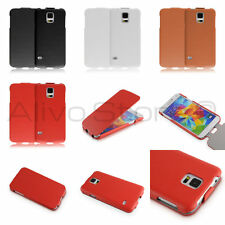 Super Thin PU Leather Vertical Flip leather case cover for Samsung Galaxy S5