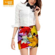 Newest Trendy Womens Stretch High Waist Skirts Ladies Short Bodycon Mini Skirt