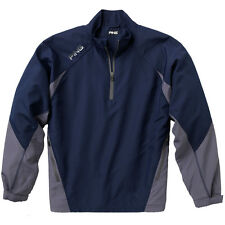 New Blue Ping 1/4 Zip Recovery Golf Jacket Coat Large XL Pullover Rain Wind