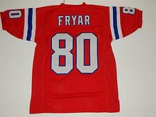 Irving Fryar custom jersey sewn letters numbers New England Patriots M - XXL