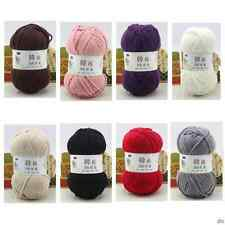 LOT of 1 Skeins x 100g Thick Hand-woven Colorful Knitting Scores Wool Baby Yarn