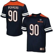 Chicago Bears Julius Peppers #90 Majestic Hashmark Jersey Mens Big & Tall Sizes