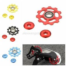 11T New CNC Alloy Rear Derailleur Pulley Bearing Jockey Wheel For SHIMANO A60