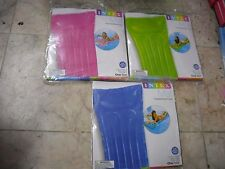 """NEW INTEX 72"""" TRANSPARENT MAT SWIMMING POOL FLOATING LOUNGE FLOAT Assorted Color"""