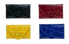 Manzoni Croc Print Genuine Natural Leather Wallet - W568C RRP $89.00
