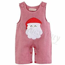 Xmas Santa Claus Toddlers Baby Boy Girl Romper Playsuit Christmas Outfit Clothes