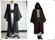 Star Wars Jedi/Sith Adult Cosplay Hooded Cape Cloak Costume Halloween-custom