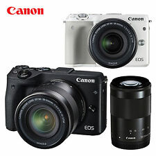 Brand New! Canon EOS M3 24.2 MP Digital Camera  18-55mm lens Kit