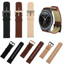 Quick Release Genuine Leather Watch Band Strap for MOTO 360 2nd Gen Smart Watch