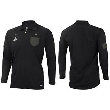 Adidas JAPAN Football Soccer Referee Jersey T-Shirt Black DJ133