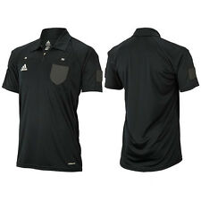 Adidas JAPAN Football Soccer Referee Jersey T-Shirt Black DJ134