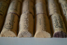 Used Pre-Cut Wine Corks for Crafts Multi Listing 50-100-200-400 Halves 100% Cork