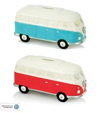 VW Volkswagon Official Licence Splitty Camper Van Money Box Moneybox Red or Blue