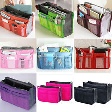 Multifunction Travel Cosmetic Bag Makeup Case Pouch Toiletry Zip Wash 10 Colors