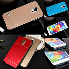Luxury Motomo Metal Aluminum Brushed Hard Skin Case Cover For Samsung Galaxy