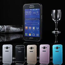Metal Aluminum Bumper + PC Back Case Cover For Samsung GALAXY CORE Prime G360