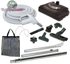 30' or 35' Central Vacuum Kit w/Hose, Power Head & Tools Hoover Beam Nutone