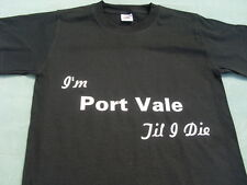 Port Vale T-Shirts & Sweat Shirts Inc 4XL & 5XL Personalised Birthday Gift