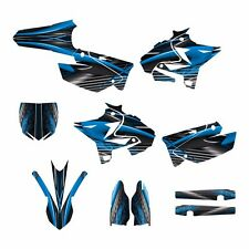 2002 - 2014 YZ125 YZ250 Graphics UFO Restyled kit #3333 Blue Free Custom Service