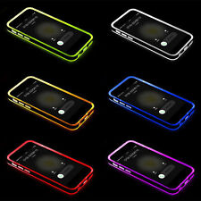 TPU Shockproof Incoming Call LED Flash Blink Case For Apple iPhone 5s 6 6S Plus