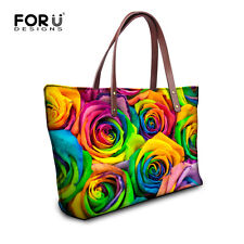 Floral Womens Fashion Shoulder Bag Handbags Rose Casual Tote Purse Satchel NEW