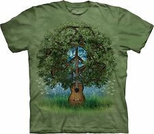 Guitar Tree Organic T Shirt Adult Unisex The Mountain