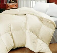 Ivory Oversized Goose Down Alternative Year Round Comforter  QUEEN & KING SIZES