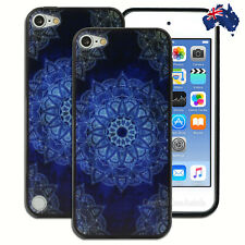 NEW Dark Blue Mandala Hard Case for Apple iPod Touch 5 5th 6 6th Gen Cover