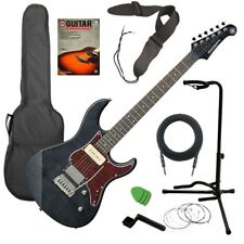 Yamaha Pacifica PAC611VFM Electric Guitar - Trans Black GUITAR ESSENTIALS BUNDLE