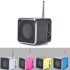 1 Pc Mini Music Stereo Media Speaker Music Player FM Radio USB TD-V26
