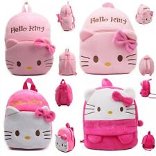Kids Bags Baby Children Girls Cute Plush Kitty Cat Backpacks Preschool Schoolbag
