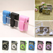 Useful New Mirror Clip USB Digital Mp3 Music Player Support 8GB Micro SD TF Card